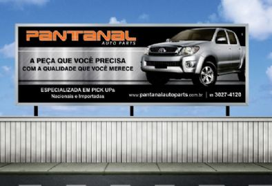 Pantanal Auto Parts - Outdoor Institucional